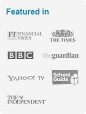 Tutorfair featured on Financial Times, The Times, BBC, the Guardian, Yahoo TV, School Guide, and The Independent
